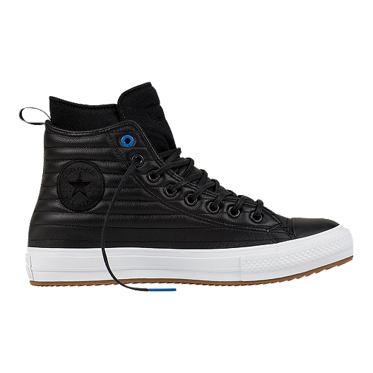7752d97103e5c9 Converse Men s Chuck Taylor Waterproof Hi Boots - Black White ...