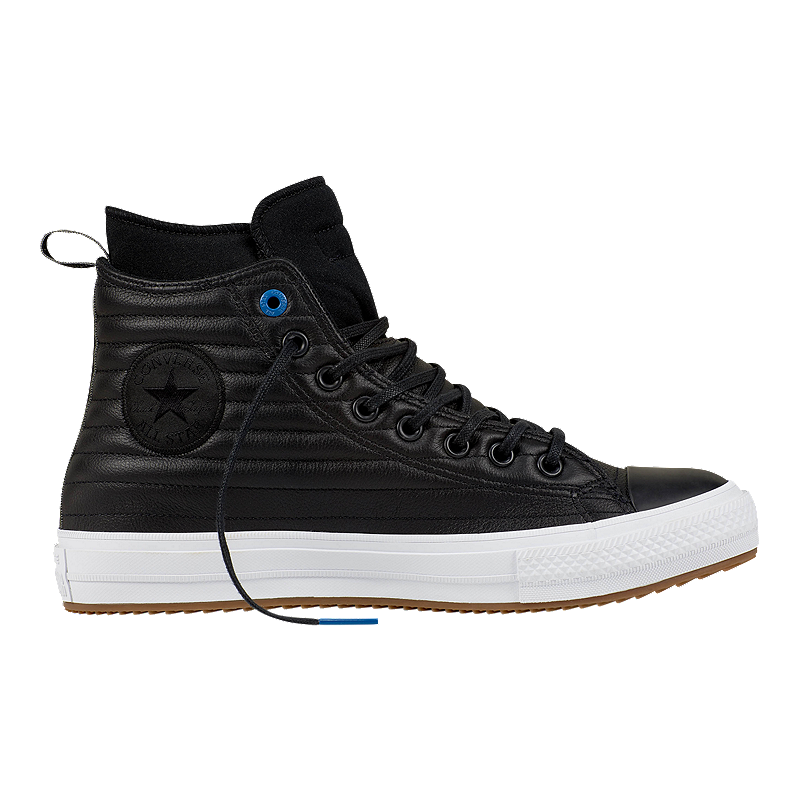 867c62b939bb79 Converse Men s Chuck Taylor Waterproof Hi Boots - Black White ...