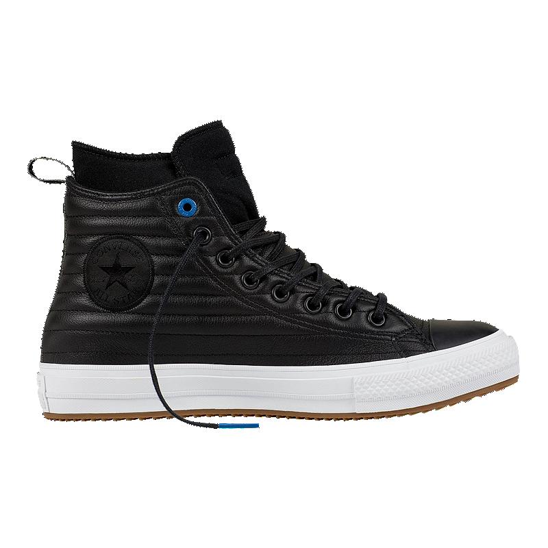 426e74b3010fef Converse Men s Chuck Taylor Waterproof Hi Boots - Black White ...