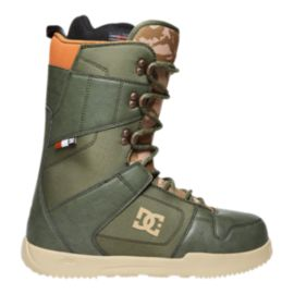 DC Phase Men's Snowboard Boots 2017/18 - Army (Laced)