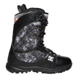 DC Karma Women's Snowboard Boots 2017/18 - Black Pattern (Laced)