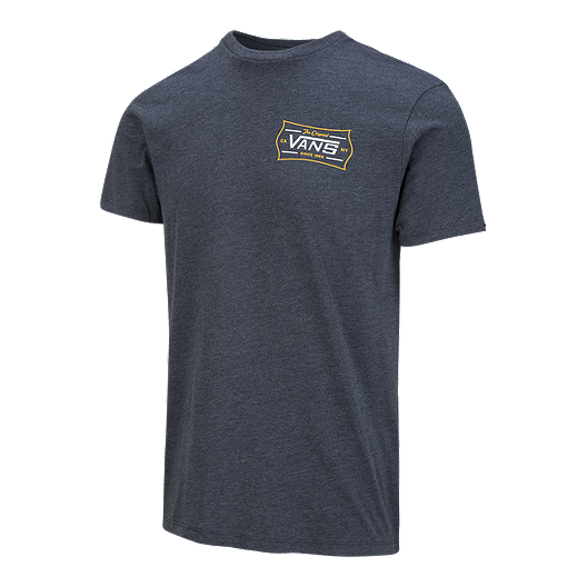 4e8f827c438 Vans Men's Workman's Crest T Shirt - Navy Heather | Sport Chek