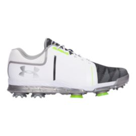 Under Armour Women's Tempo Sport Golf Shoes - White/Black