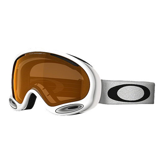 2afd2ad3b97 Oakley A Frame 2.0 Ski   Snowboard Goggles 2017 18 - White with Persimmon  Lens