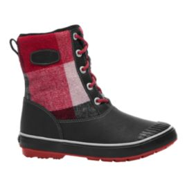 Keen Women's Elsa L Waterproof Winter Boots - Dahlia/Plaid
