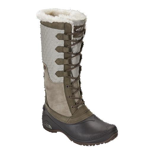 28a131035 The North Face Women's Shellista III Winter Boots - Dune/Demitasse ...