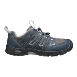 Keen Kids' Oakridge Low Hiking Shoes - Midnight/Grey