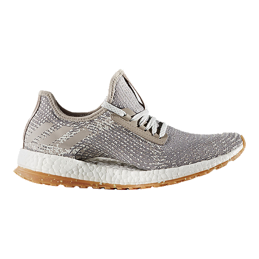 123d9f5a4e0c1 adidas Women s Pure Boost X All Terrain Running Running Shoes - Silver Grey  White Gum