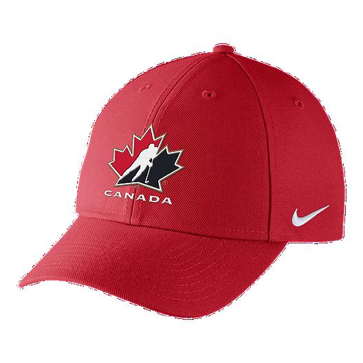 26ee6b3a5c2 Team Canada Nike Dri-FIT Adjustable Hat