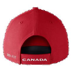 Team Canada Nike Dri-FIT Adjustable Hat  fbe0b38913c