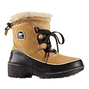 89ce6c8d9947 ... Emelie Foldover Grade School Winter Boots - Black · Sorel Girls  Tivoli  III Winter Boots - Curry Black