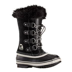 Sorel Girls  Joan of Arctic Winter Boots - Black Oyster b7ad7ed7b56