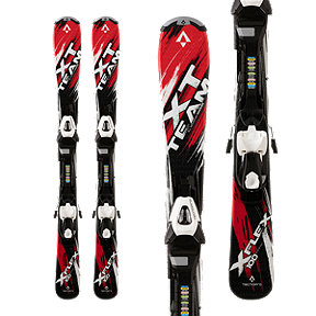 Tecnopro XT Team ET Junior Skis 2017/18 & Tecnopro ETC 45 Ski Bindings