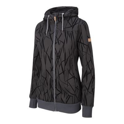 Roxy Snow Women's Frost Printed Full Zip Hoodie
