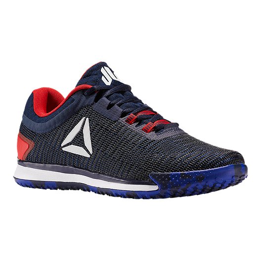 92fabec1f1a Reebok Men s JJ II Low Training Shoes - Blue Red