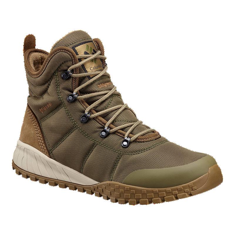 Columbia Men S Fairbanks Omni Heat Boots Nori Sport Chek