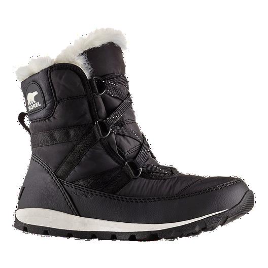 0a9d4878a336e Sorel Women s Whitney Short Lace Winter Boots - Black