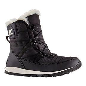 ad3fea26cd32 Sorel Women s Whitney Short Lace Winter Boots - Black