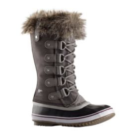 Sorel Women's Joan of Arctic Winter Boots - Quarry/Black