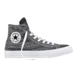 Converse CT All Star Hi x Flyknit Shoes - Black/Wolf