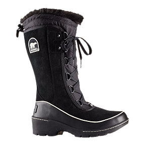 Sorel Women's Tivoli III Tall Winter Boots - Black/Bisque
