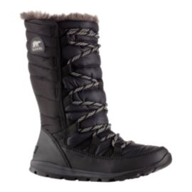 Sorel Women's Whitney Lace Winter Boots - Black