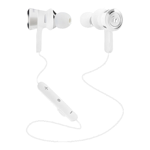dc01a110c3f Monster Clarity HD Bluetooth Headphones - White/Chrome | Sport Chek