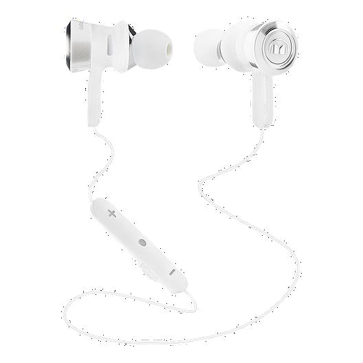 16e6ac50cd0 Monster Clarity HD Bluetooth Headphones - White/Chrome   Sport Chek