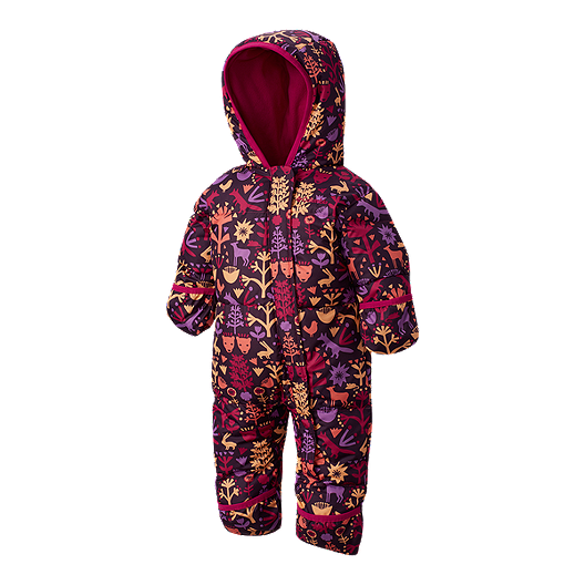 e920e4cf4 Columbia Baby Girl Snuggly Bunny Down Bunting Suit