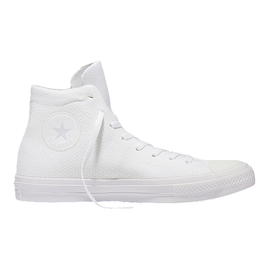 f3609051f337 Converse Chuck Taylor All Star Hi x Nike Flyknit Shoes - White ...