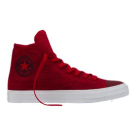 Converse Chuck Taylor All Star Hi x Nike Flyknit Shoes - Red/White
