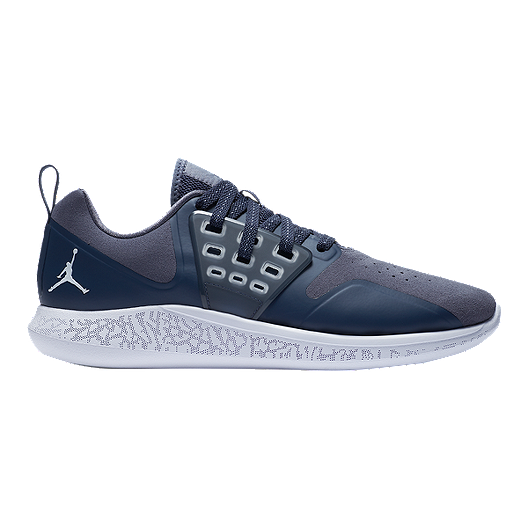 a328b1c52e7f Nike Men s Jordan Lunar Grind Training Shoes - Light Grey Blue White ...
