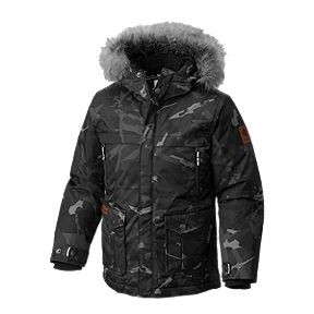 Columbia Boys' Barlow Pass TurboDown Parka Jacket