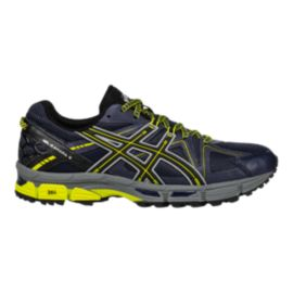 ASICS Men's Gel Kahana 8 Running Shoes - Navy/Black/Yellow