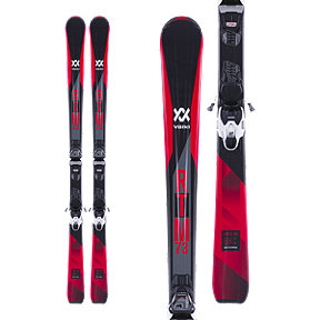 Völkl RTM 73 Men's Alpine Skis 2017/18 & Marker VMotion 10 GW Black/White Ski Bindings