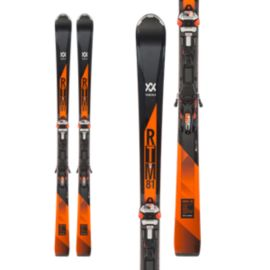 Völkl RTM 81 Men's Alpine Skis 2017/18 & Marker IPT WR XL 12 TCX GW Orange Ski Bindings