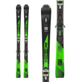 Völkl RTM 84 UVO Men's Alpine Skis 2017/18 & Marker IPT WR XL 12 FR GW Green Ski Bindings