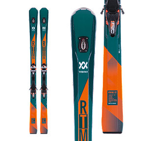 Völkl RTM 86 UVO Men's Alpine Skis 2017/18 & Marker IPT WR XL 12 FR GW Orange Ski Bindings