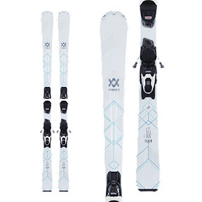Völkl Flair 73 Women's Alpine Skis 2017/18 & Marker VMotion 9 GW Women's Black/White Ski Bindings
