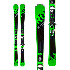 Rossignol Experience 88 HD Konect Men's Skis 2017/18 & LOOK SPX 12 Konect Dual WTR B90 Ski Bindings Black/Green