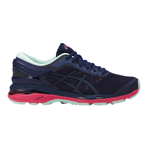 ASICS Women's Gel Kayano 24 LS Running Shoes Dark BlueBlack