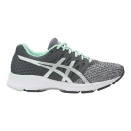 ASICS Women's Gel Exalt 4 Running Shoes - Grey/Green