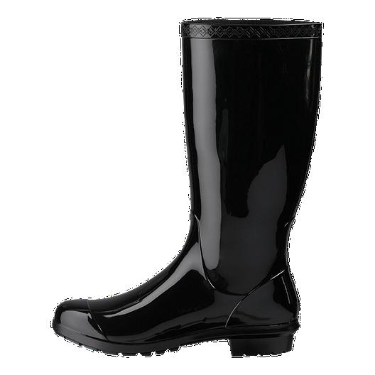 edaa5da42d9 Ugg Women's Shaye Rain Boots - Black