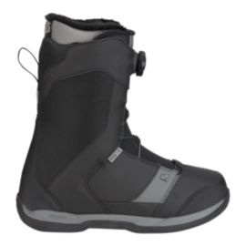 Ride Riot Boa Men's Snowboard Boots 2017/18 - Black/Grey