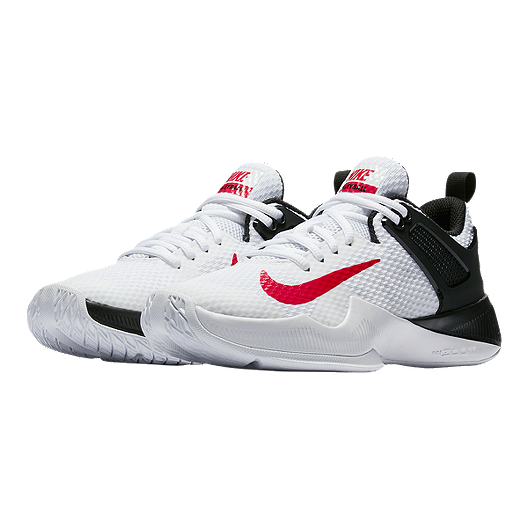 huge discount 91cb8 7679d Nike Women s Zoom Hyperspace Volleyball Shoes - White Black Red