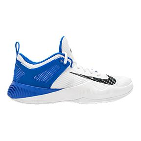 bbd69acb9e184 Nike Women s Zoom Hyperspace Volleyball Shoes - White Black Blue