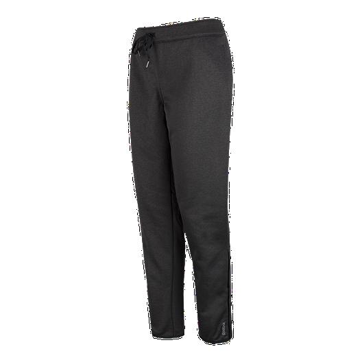 9b8fb217c9a0ec Reebok Women s Force Slim Fleece Pants