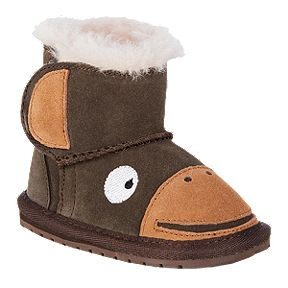 b6a5baf7449 Emu Toddler Girls  Creatures Winter Boots - Monkey