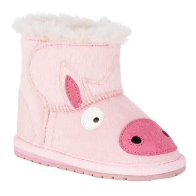 71340d982700a Emu Toddler Girls' Creatures Winter Boots - Pig | Sport Chek