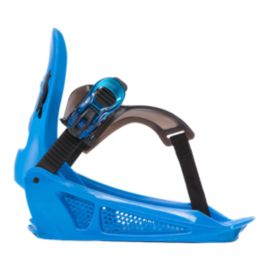 K2 Mini Turbo Junior Snowboard Bindings 2018/19 - Blue